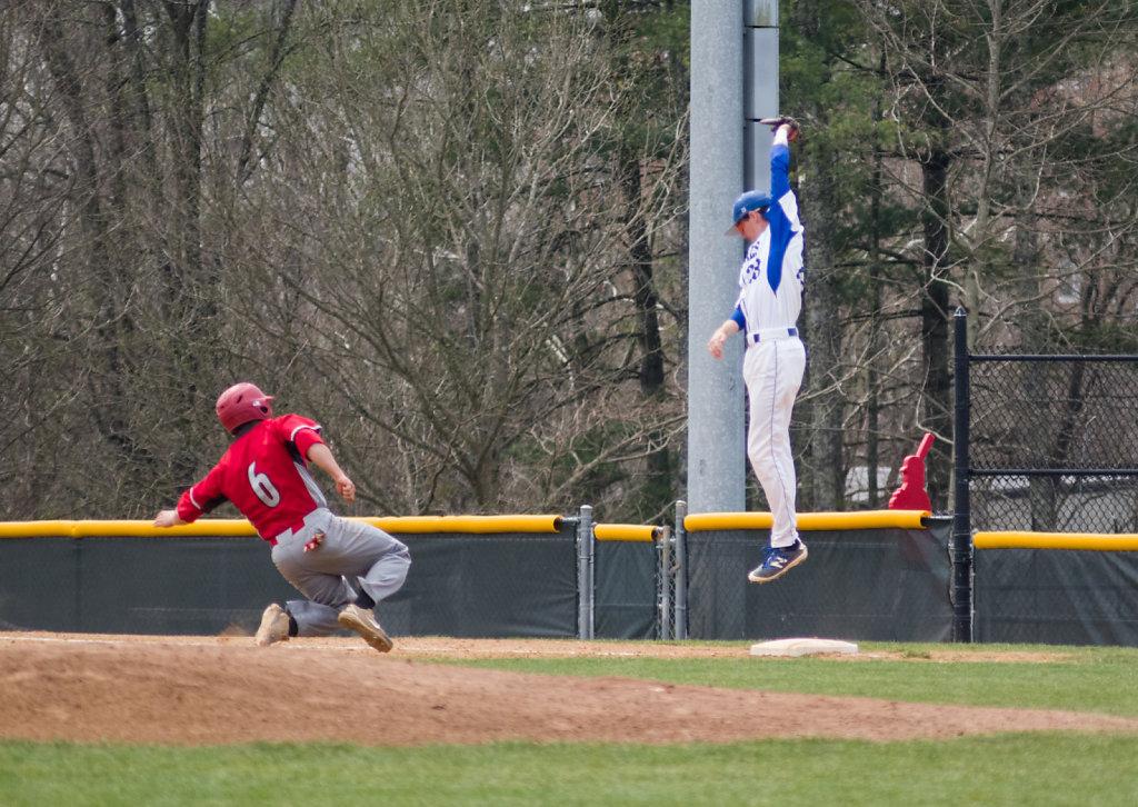 Jonny Swenson makes the catch