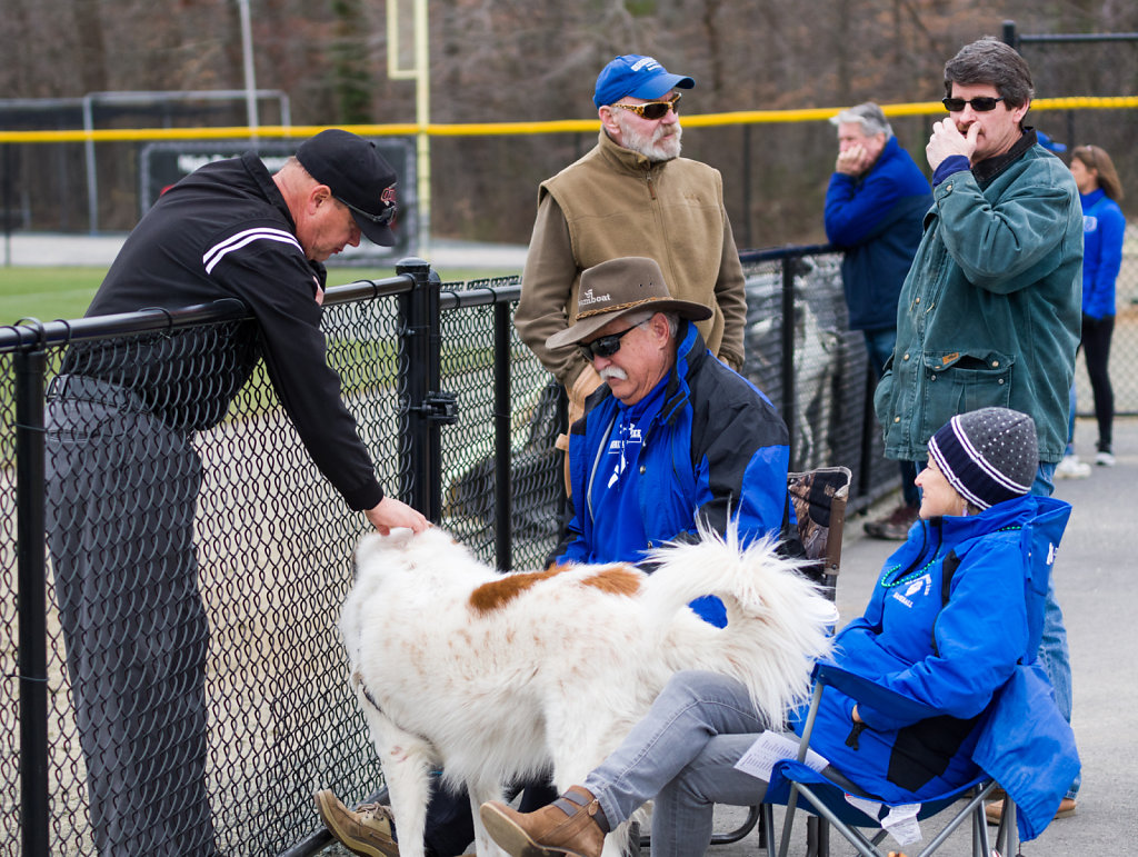 Goodwill Ambassador Softens up the Umpire