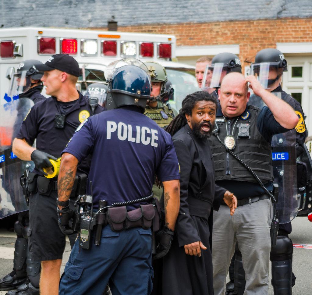 Charlottesville Crowd Control